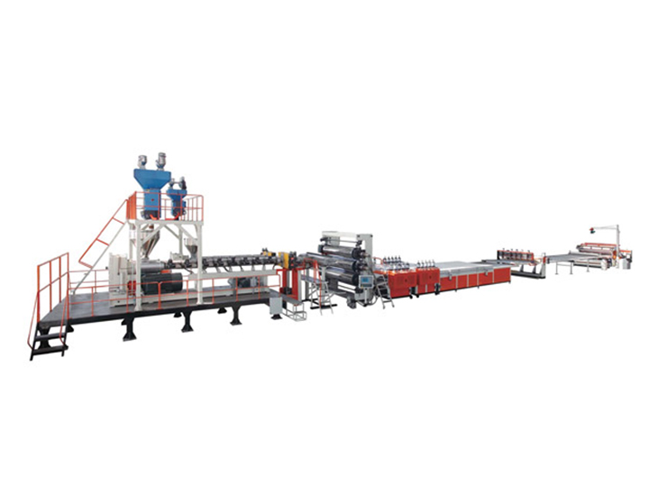 HDPE PP Polymer thick board paving slab extrusion line