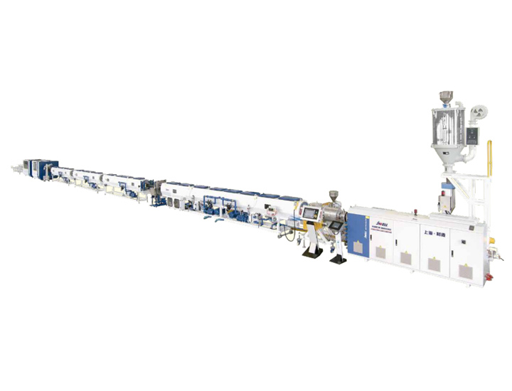High Speed Extrusion Line for HDPE Water Pipe/Gas Pipe