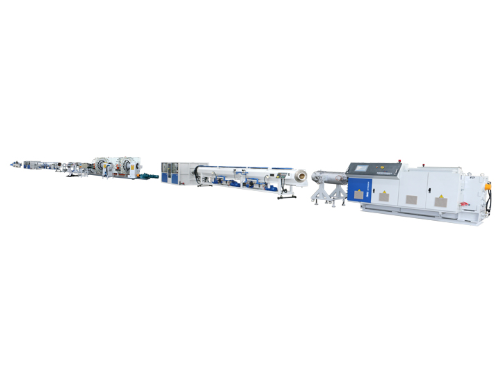 High Pressure RTP Twisted Composite Pipe Extrusion Line