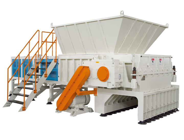 Jwell DYSSZ Heavy Single Axle Shredder