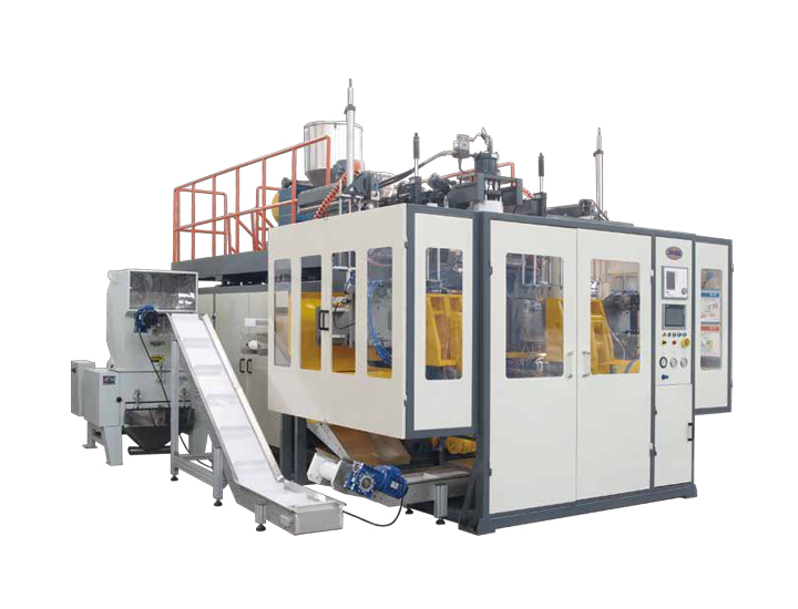 JWZ-BMQC05D/12D/20D Double Station Blow Molding Machine