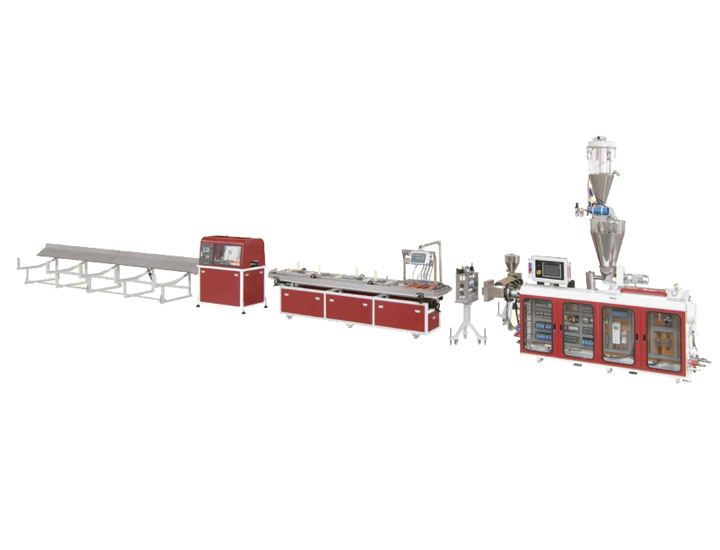 PE, PP Wood-Plastic Decking Extrusion Line