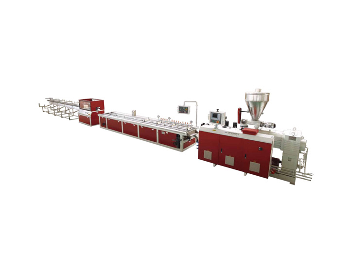 PE&PP Wood-Plastic Two Step Extrusion Line