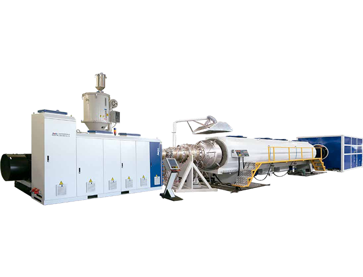 PE Heat Insulation Pipe Extrusion Line