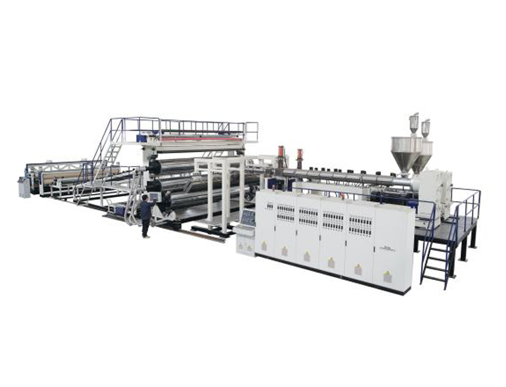 PE Geomembrane Waterproof Sheet Extrusion Line