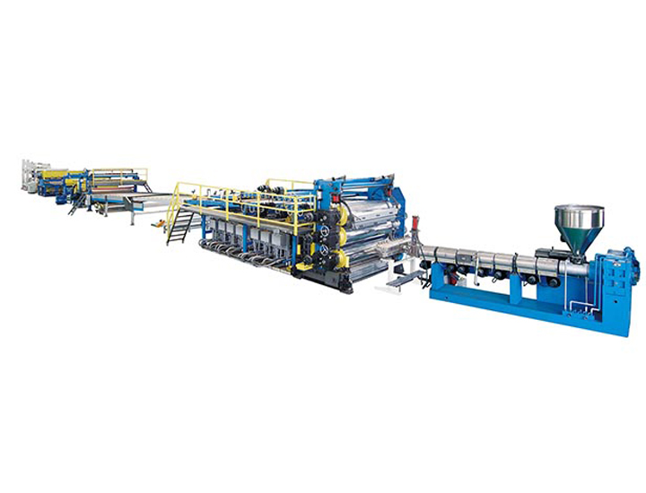 PP, PE, ABS, PVC Thick Plate Extrusion Line