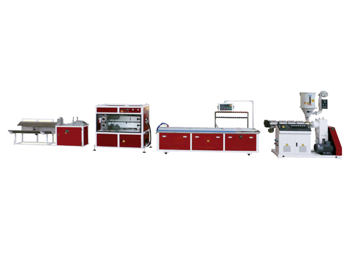 PVC、 PP、 PE、 PC、 ABS Small Profile Extrusion Line
