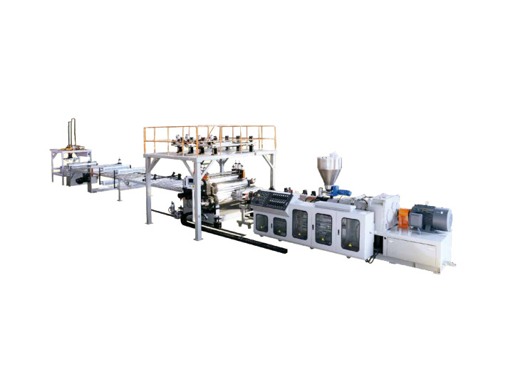 SPC Environmental Floor Extrusion Line