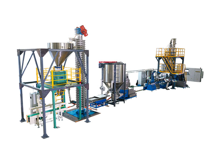 Starch filled Bio-plastic PLA PBAT compounding line