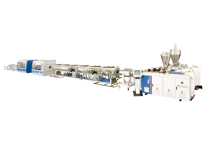 Three-layer PVC Solid Wall Pipe Co-extrusion Production line