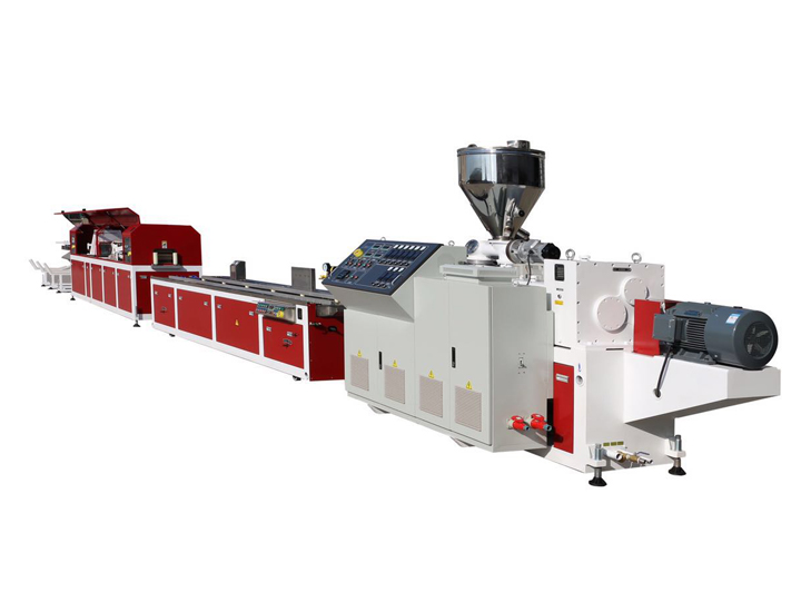 PVC Wood-Plastic Quick Assembling Wall Panel Extrusion Line