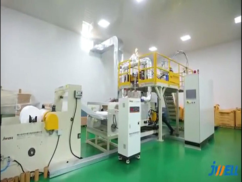 Jwell 800mm PP meltblown fabric production line