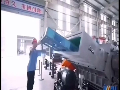 Jwell crusher for thick board and pellets